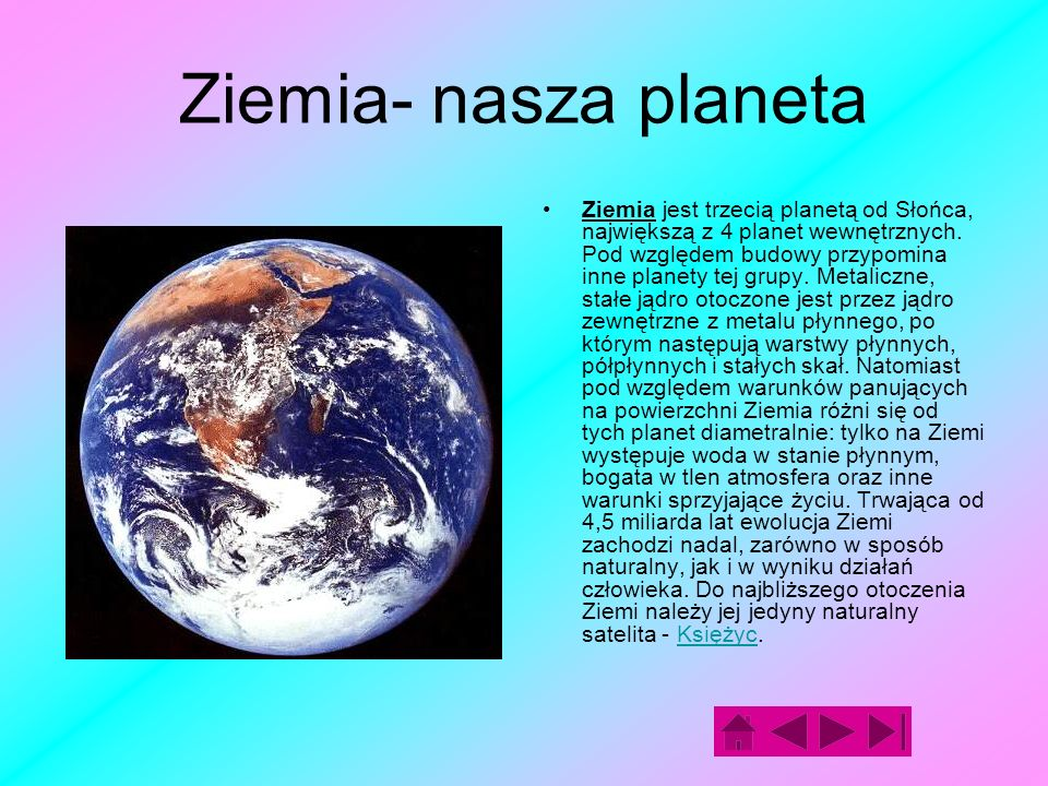 Ziemia- nasza planeta