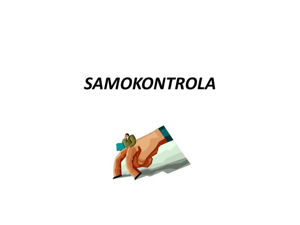 SAMOKONTROLA A