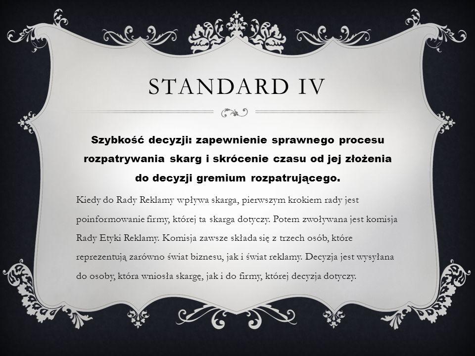 Standard IV