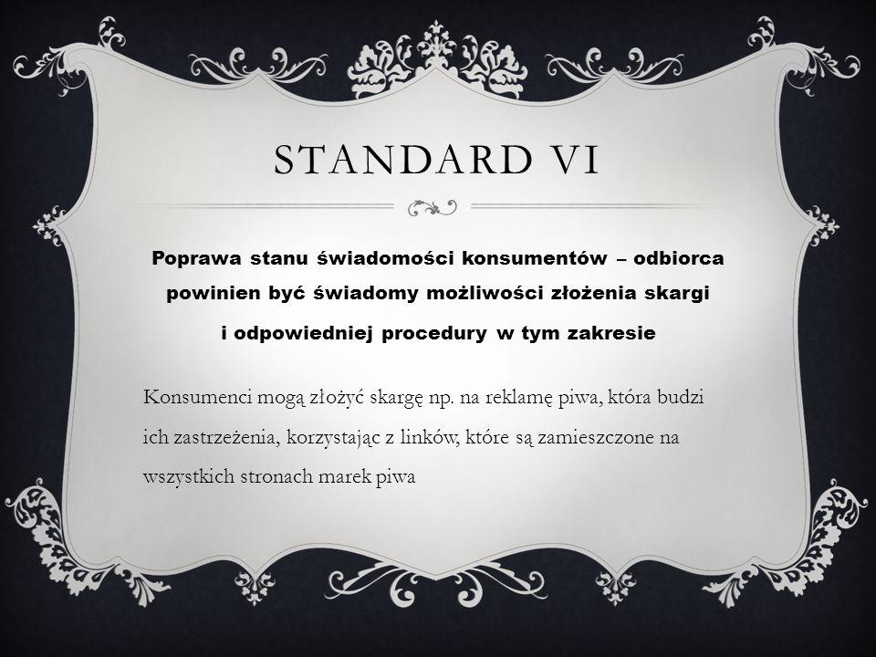 Standard VI