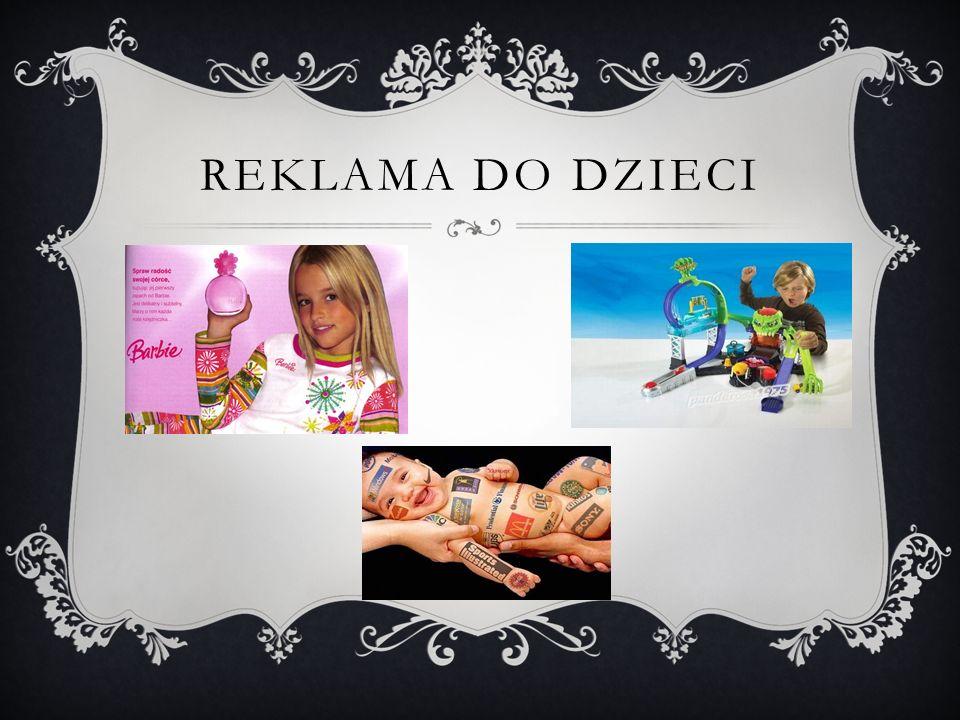 Reklama do dzieci