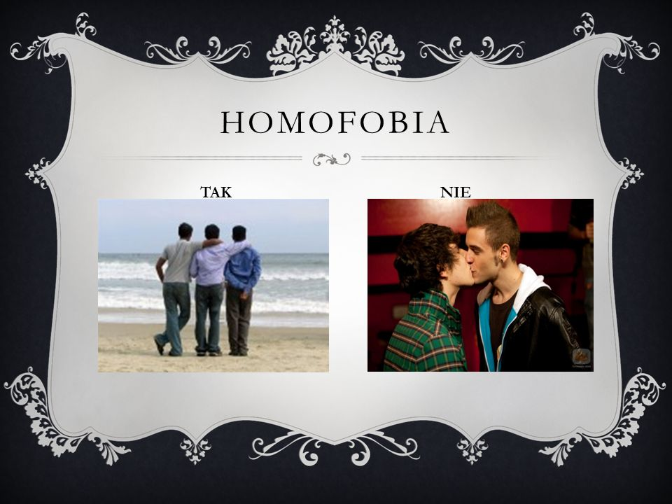 HOMOFOBIA TAK NIE