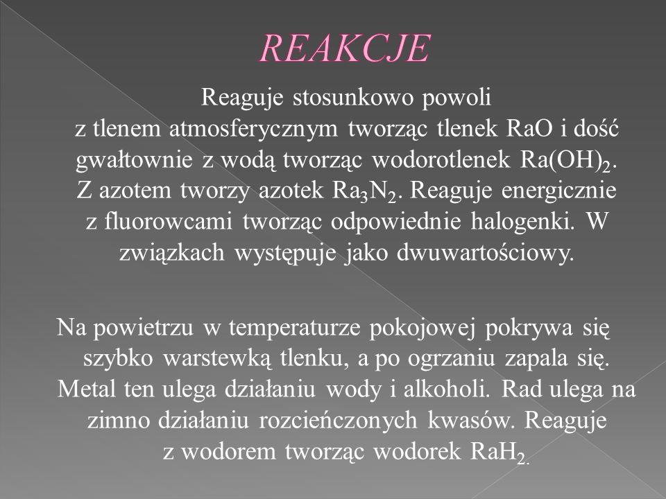 REAKCJE