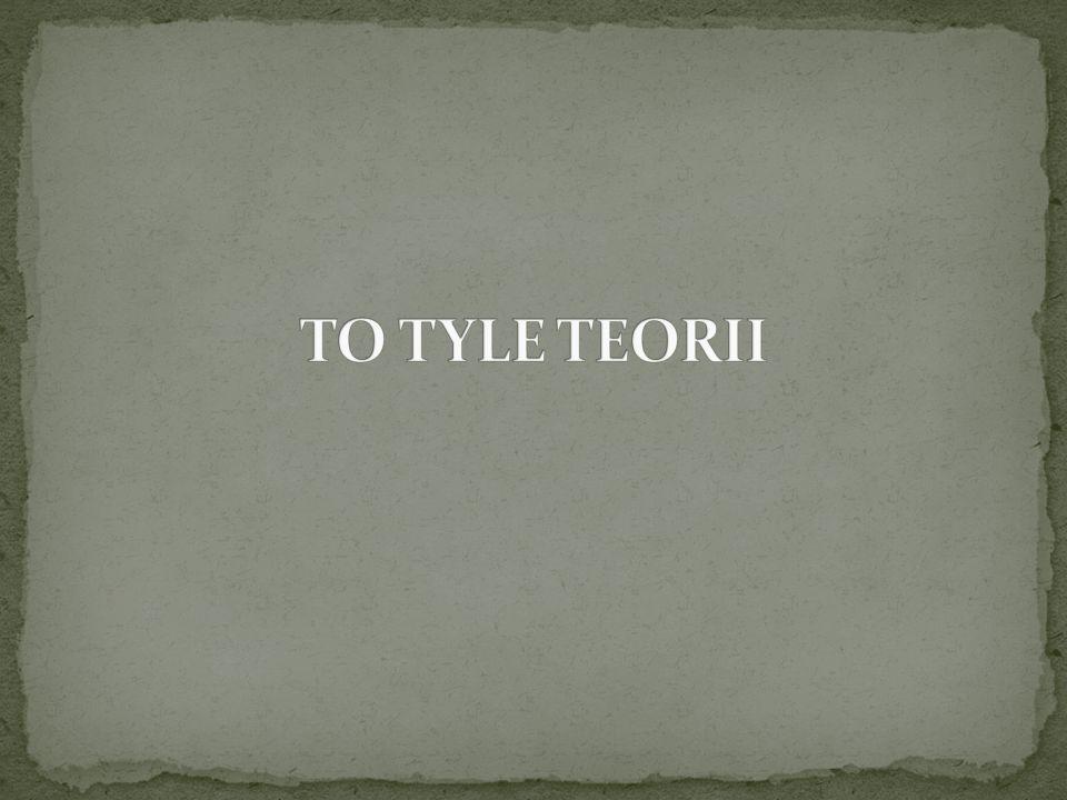 TO TYLE TEORII