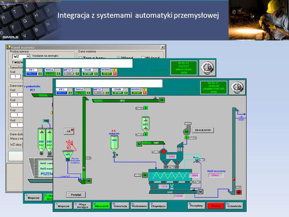 Integracja z systemami automatyki przemysłowej