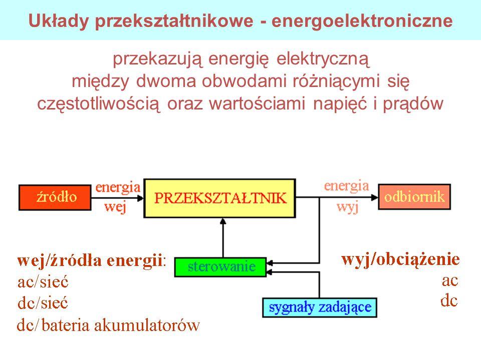 Układy przekształtnikowe - energoelektroniczne