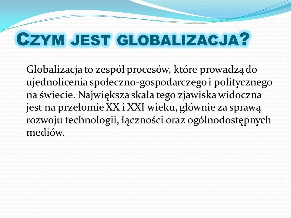 Czym jest globalizacja
