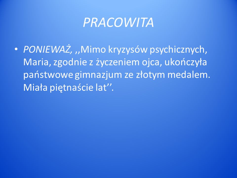 PRACOWITA