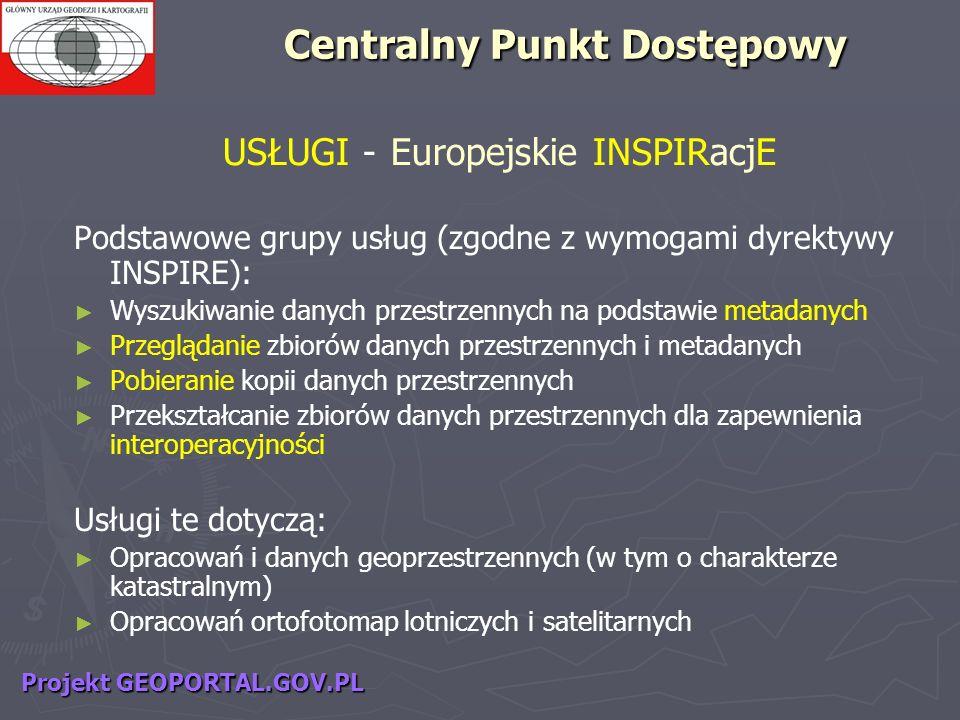 USŁUGI - Europejskie INSPIRacjE