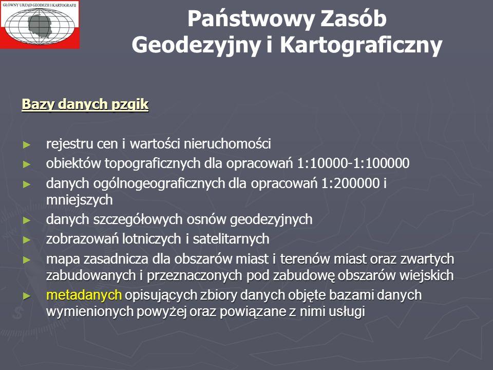 Państwowy Zasób Geodezyjny i Kartograficzny