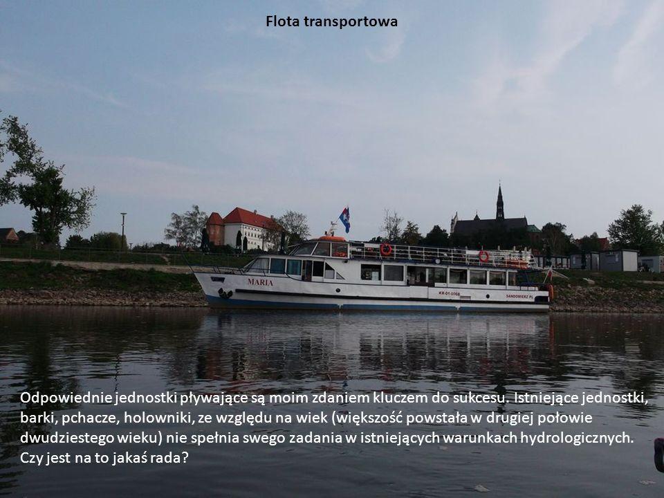 Flota transportowa Odpowiednie jednostki pływające są moim zdaniem kluczem do sukcesu. Istniejące jednostki,