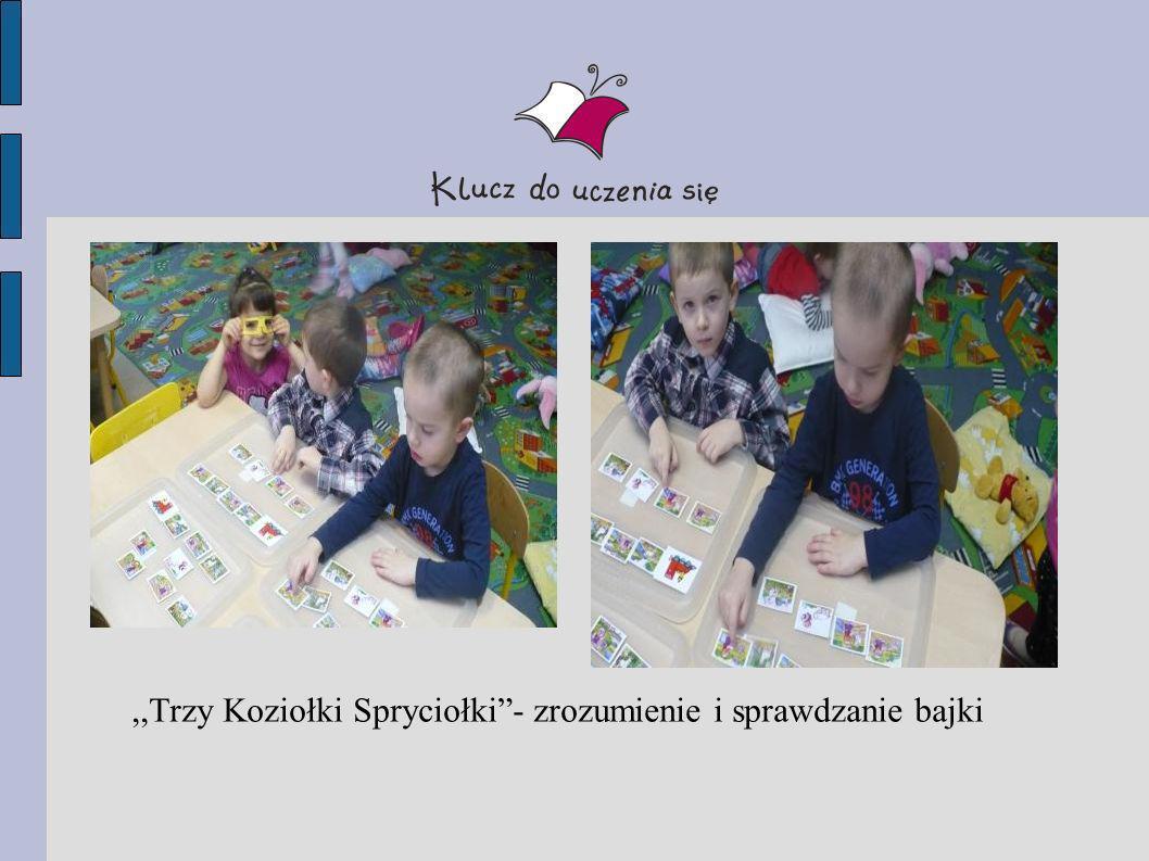 ,,Trzy Koziołki Spryciołki - zrozumienie i sprawdzanie bajki