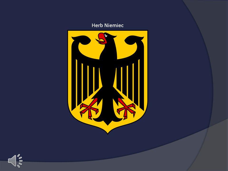 Herb Niemiec Herb niemiec, w tle niemiecki hymn narodowy