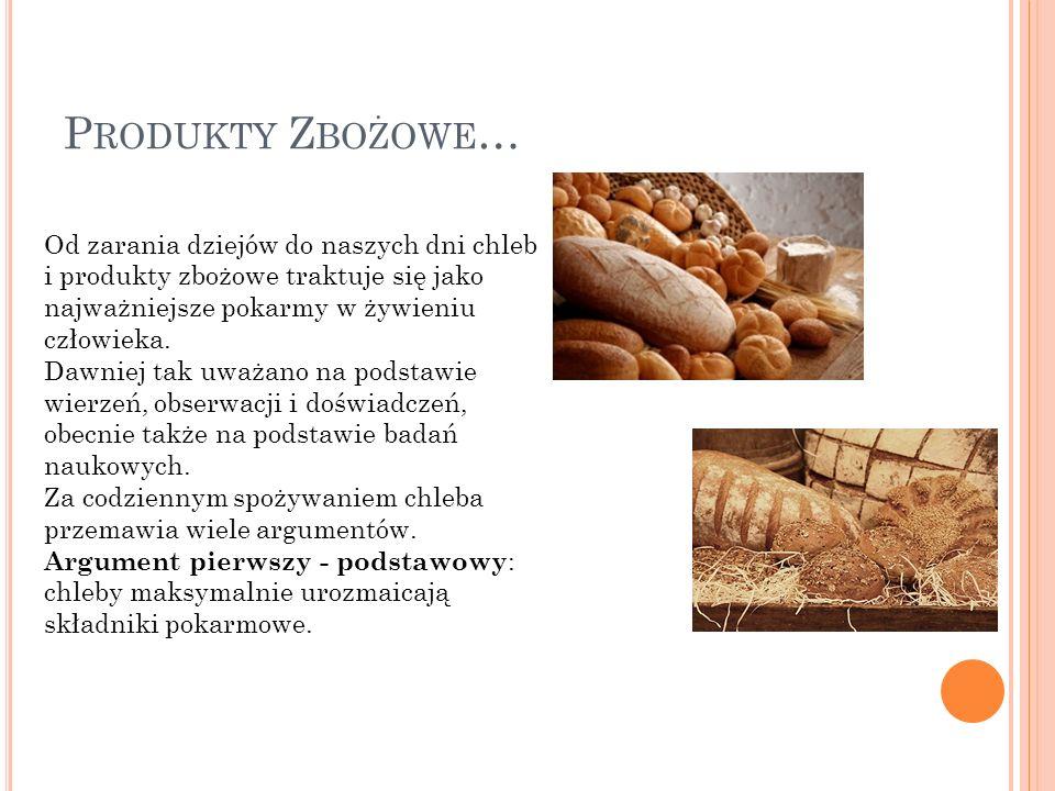 Produkty Zbożowe…