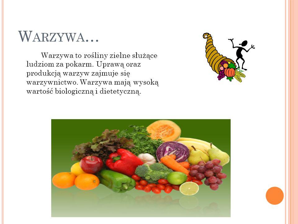 Warzywa…