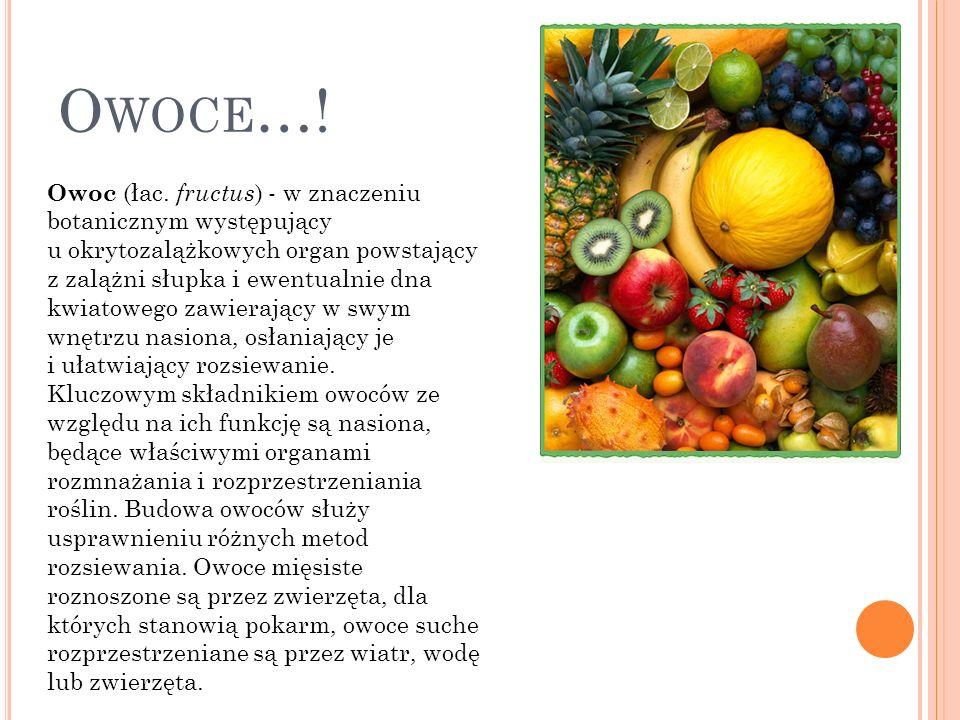 Owoce…!