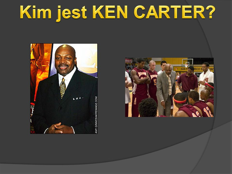 Kim jest KEN CARTER