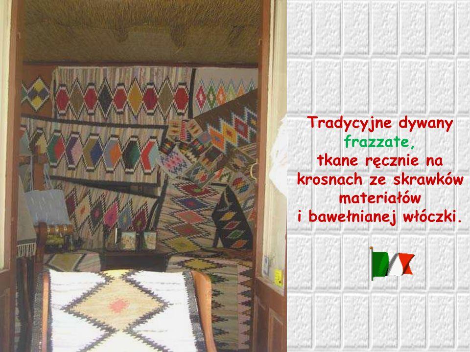 Tradycyjne dywany frazzate,