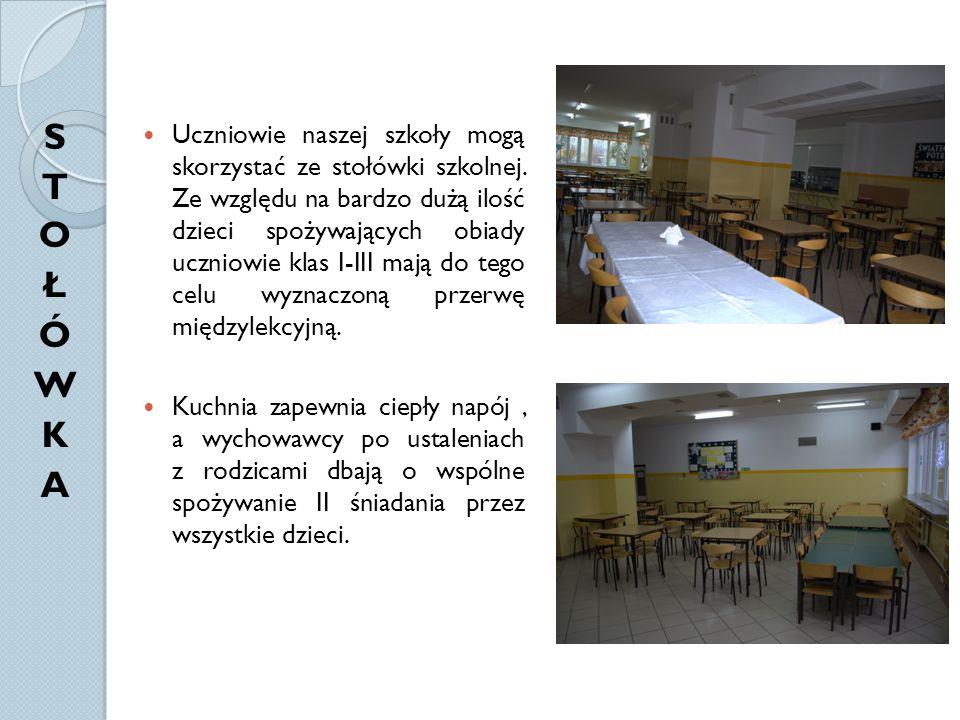 Uczniowie naszej szkoły mogą skorzystać ze stołówki szkolnej