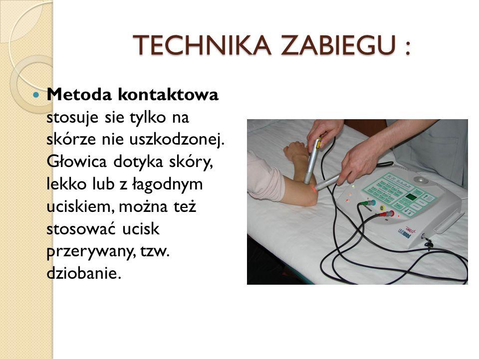 TECHNIKA ZABIEGU :