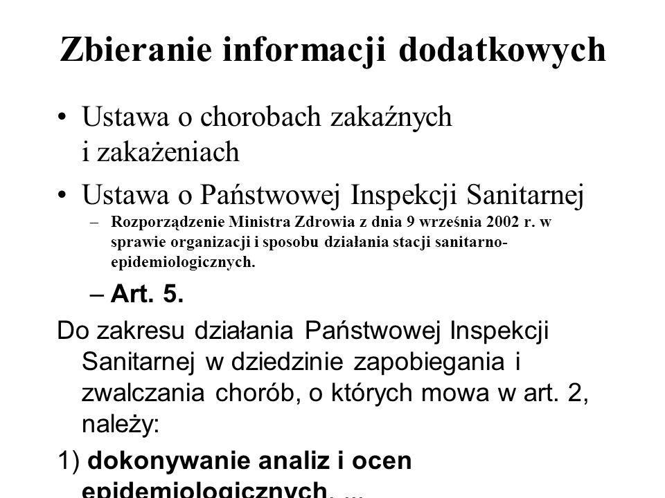 Zbieranie informacji dodatkowych