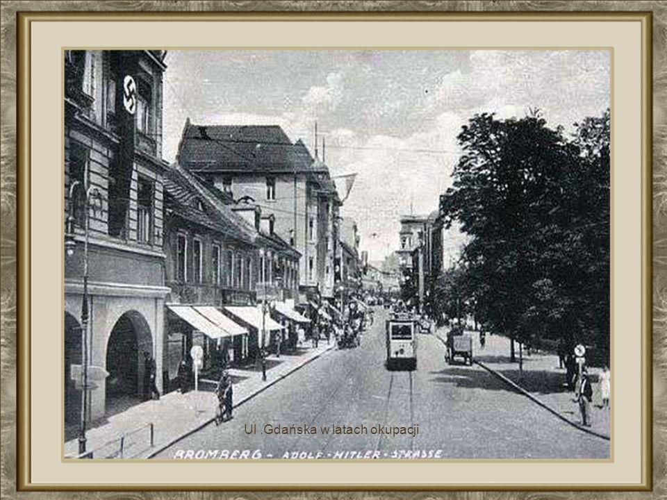 Ul .Gdańska w latach okupacji