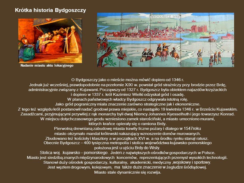Krótka historia Bydgoszczy
