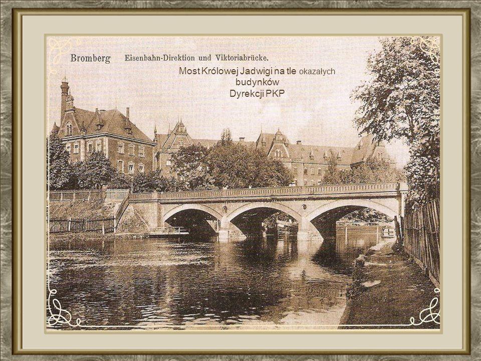 Most Królowej Jadwigi na tle okazałych
