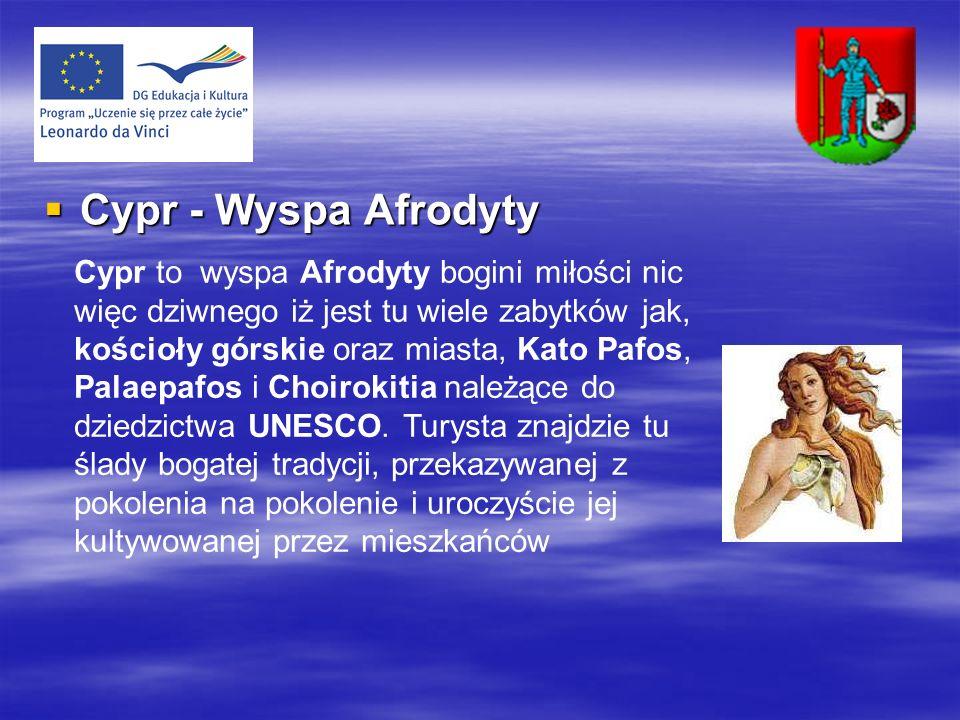 Cypr - Wyspa Afrodyty