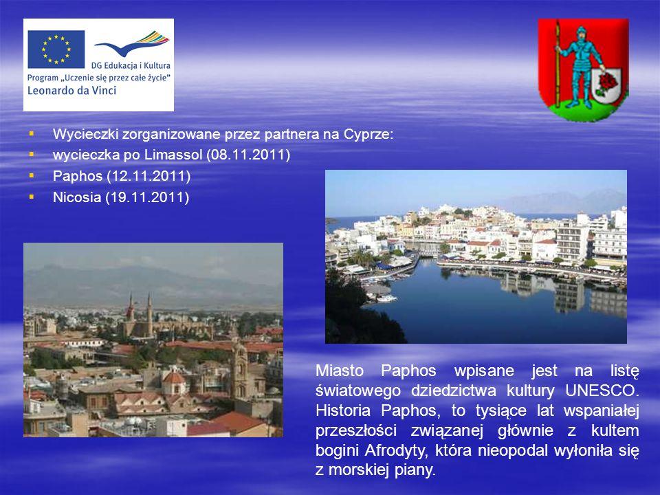 Wycieczki zorganizowane przez partnera na Cyprze: