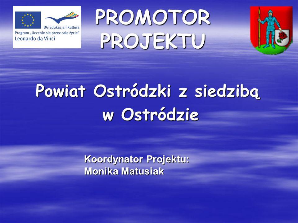 Powiat Ostródzki z siedzibą