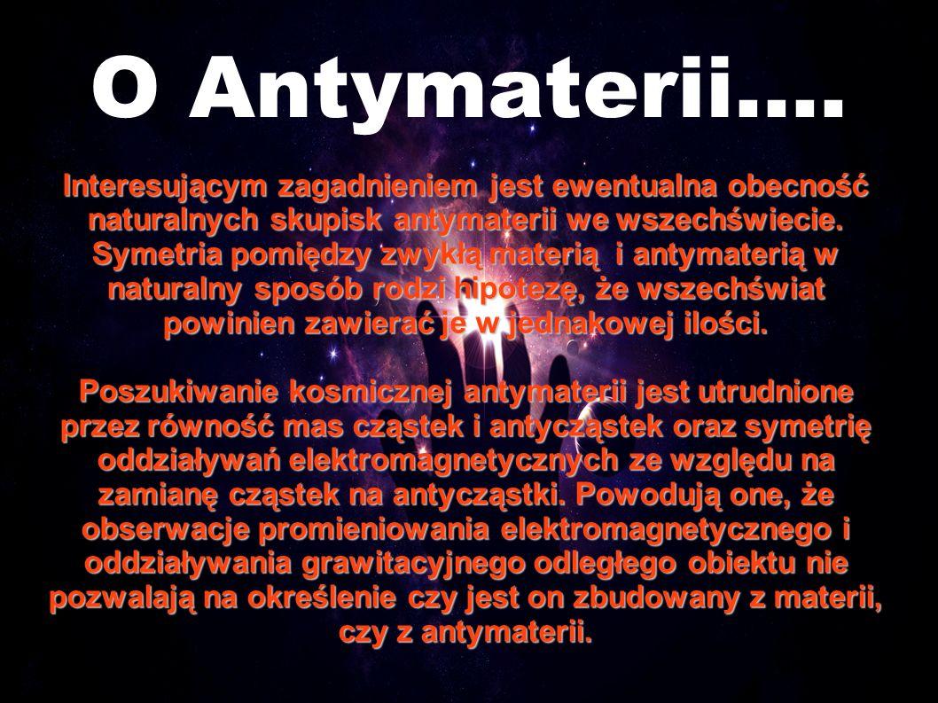 O Antymaterii....