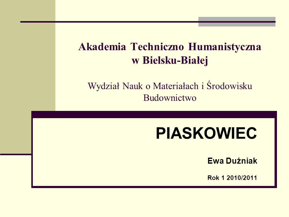 PIASKOWIEC Ewa Duźniak Rok 1 2010/2011