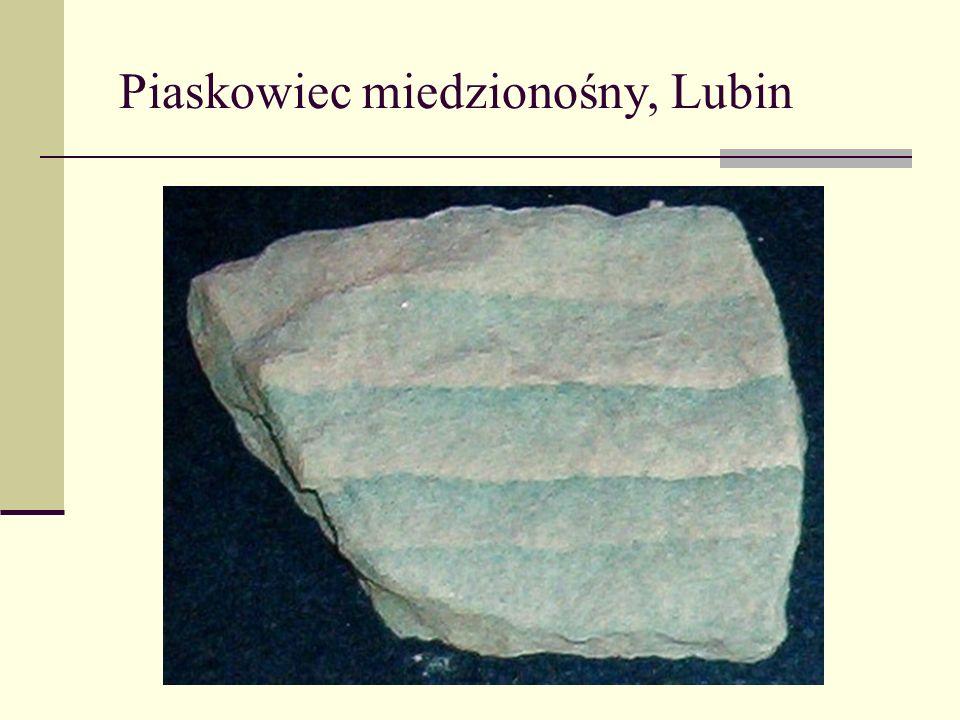 Piaskowiec miedzionośny, Lubin