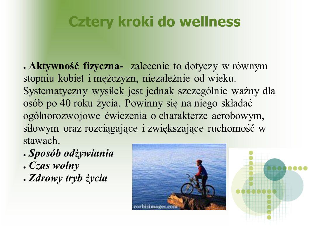 Cztery kroki do wellness