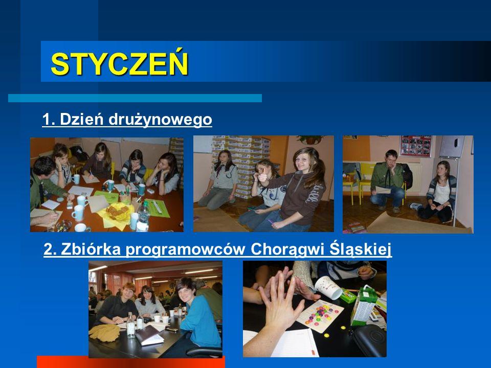 STYCZEŃ 1. Dzień drużynowego 2. Zbiórka programowców Chorągwi Śląskiej