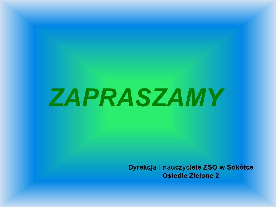 Dyrekcja i nauczyciele ZSO w Sokółce