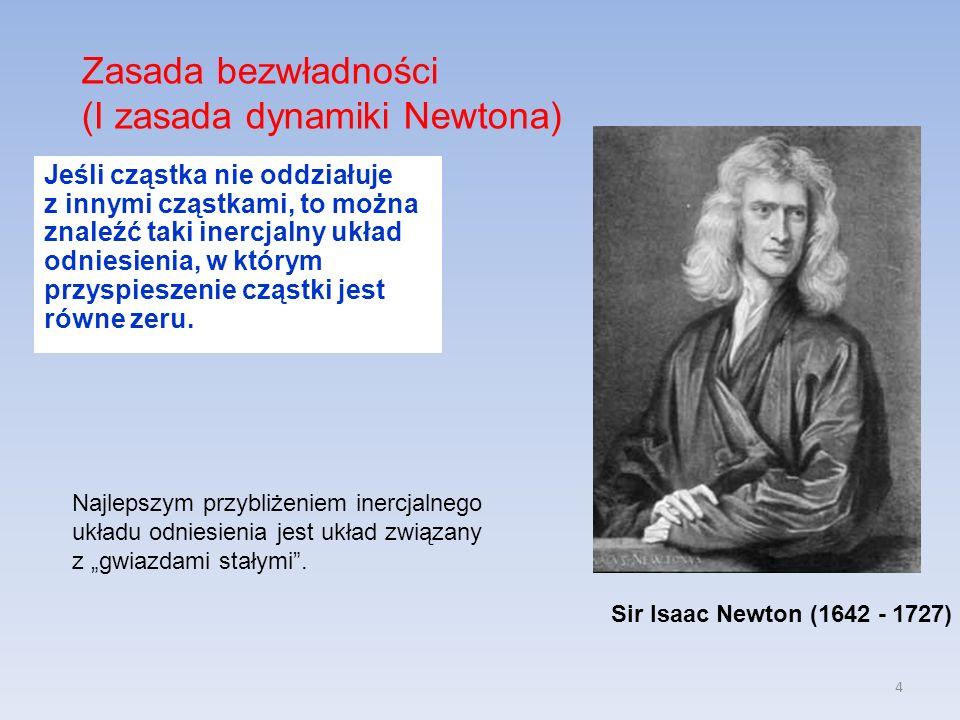 (I zasada dynamiki Newtona)