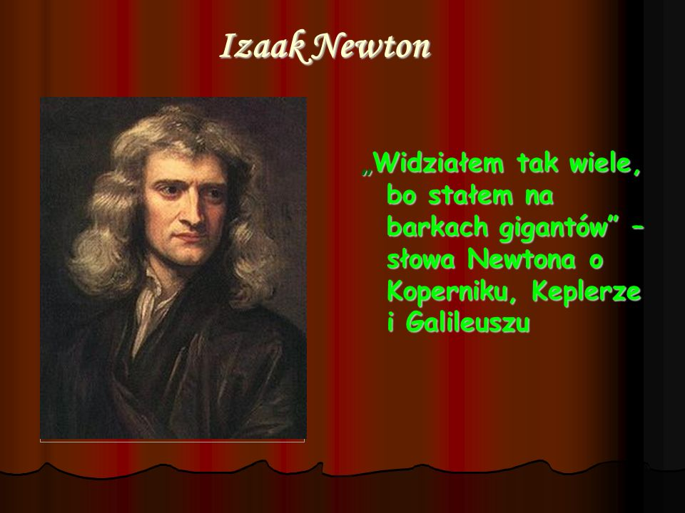 Izaak Newton