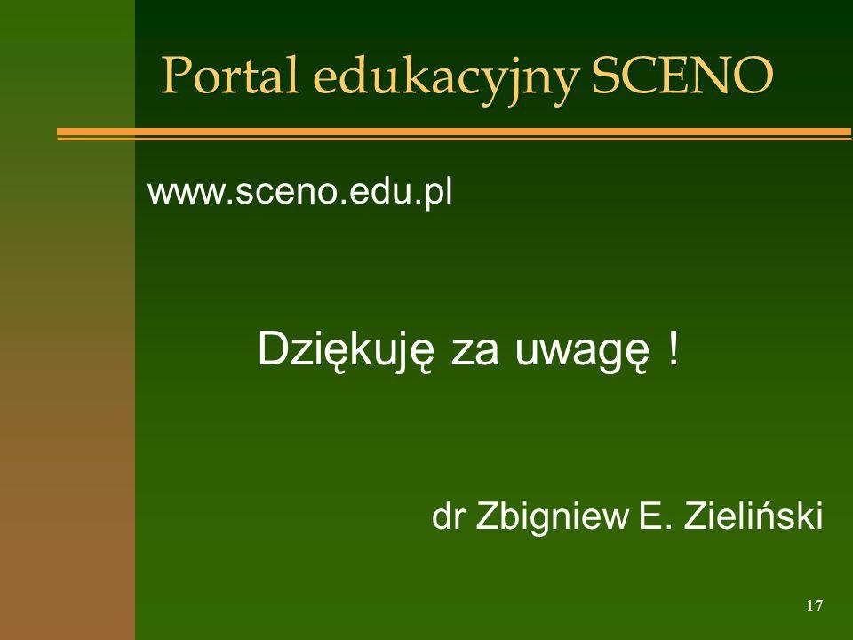 Portal edukacyjny SCENO