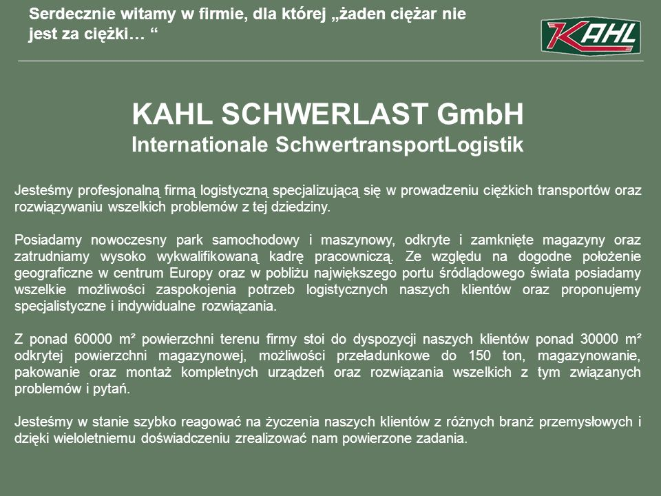 Internationale SchwertransportLogistik