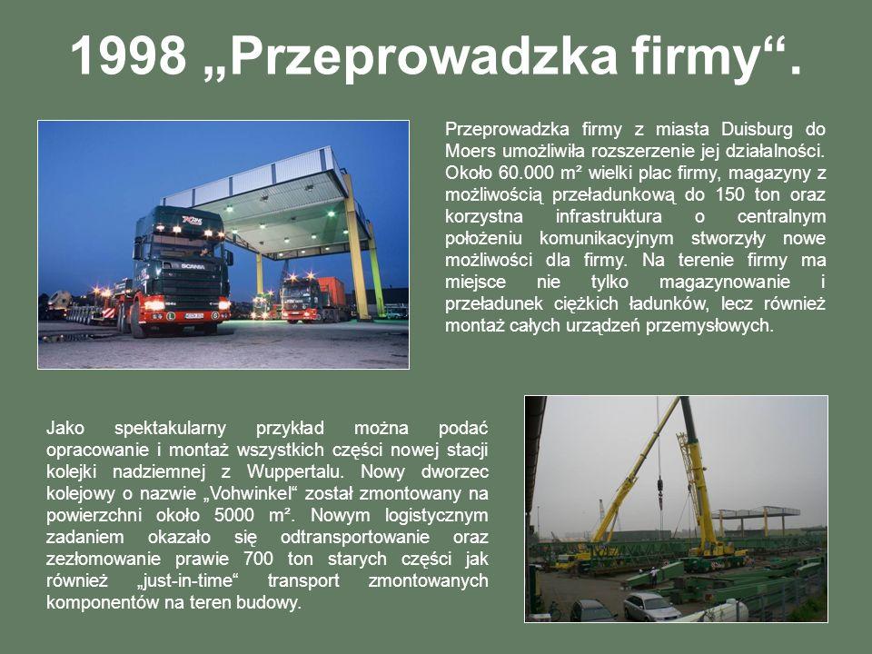"""1998 """"Przeprowadzka firmy ."""