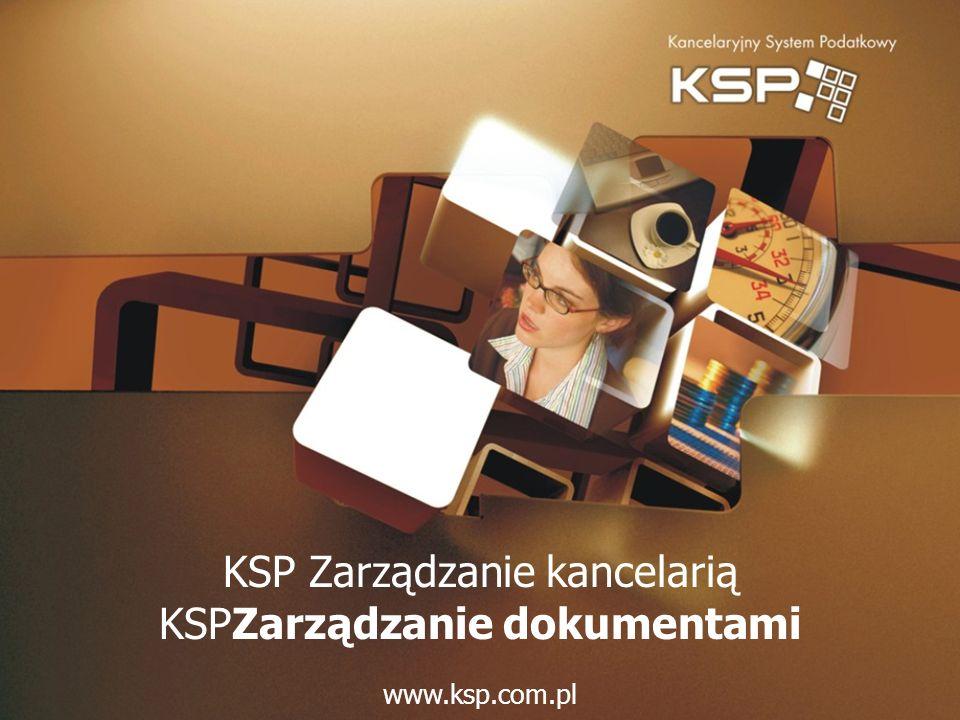KSP Zarządzanie kancelarią KSPZarządzanie dokumentami
