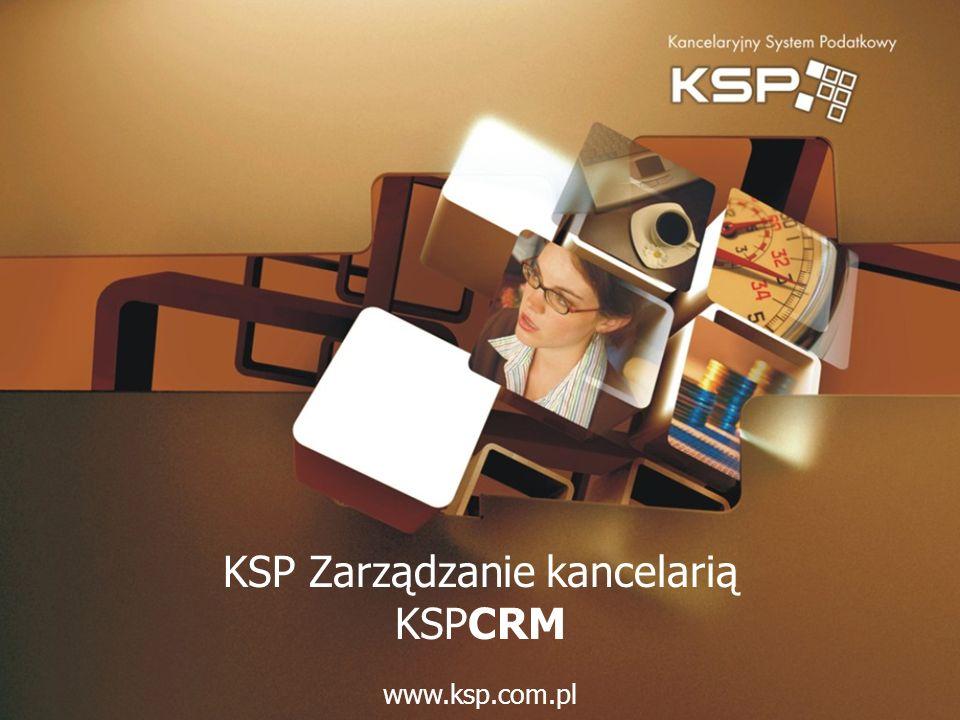 KSP Zarządzanie kancelarią KSPCRM