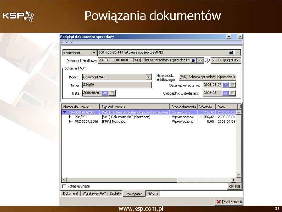 Powiązania dokumentów