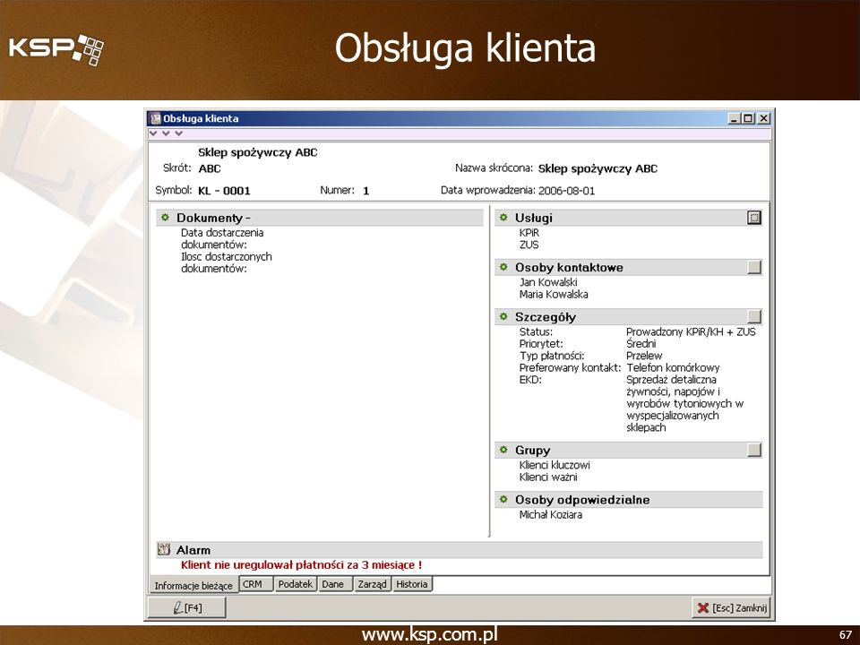 Obsługa klienta www.ksp.com.pl
