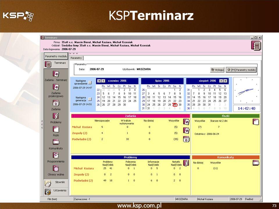 KSPTerminarz www.ksp.com.pl