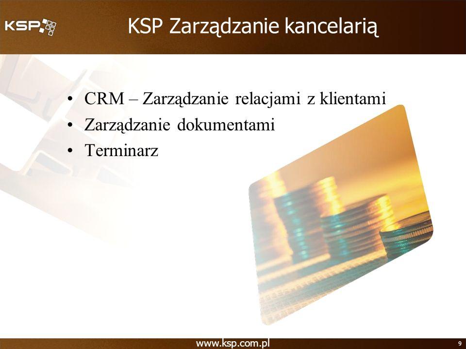 KSP Zarządzanie kancelarią