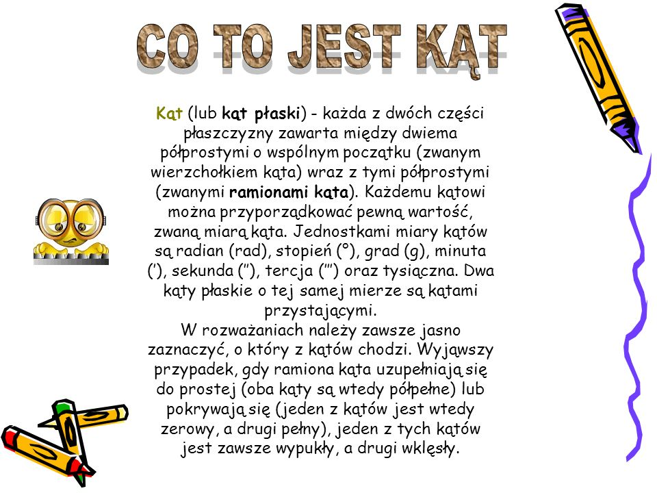 CO TO JEST KĄT