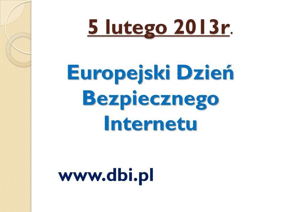Europejski Dzień Bezpiecznego Internetu